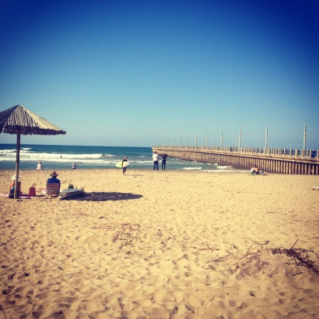 Amazing picture that I took at North Beach in Durban. Beautiful.