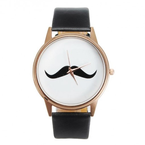 The moustache watch!