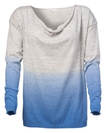 003713_Front-Dip Dye Sweater, Cotton, Grey Mel.-Provence