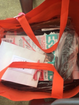 A glimpse into our fab goodie bag