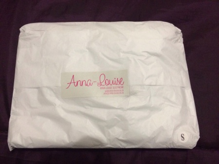 Eeek! I got the long, white PJ pants from Anna Louise!