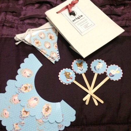 Darling party goodies from Lou Harvey