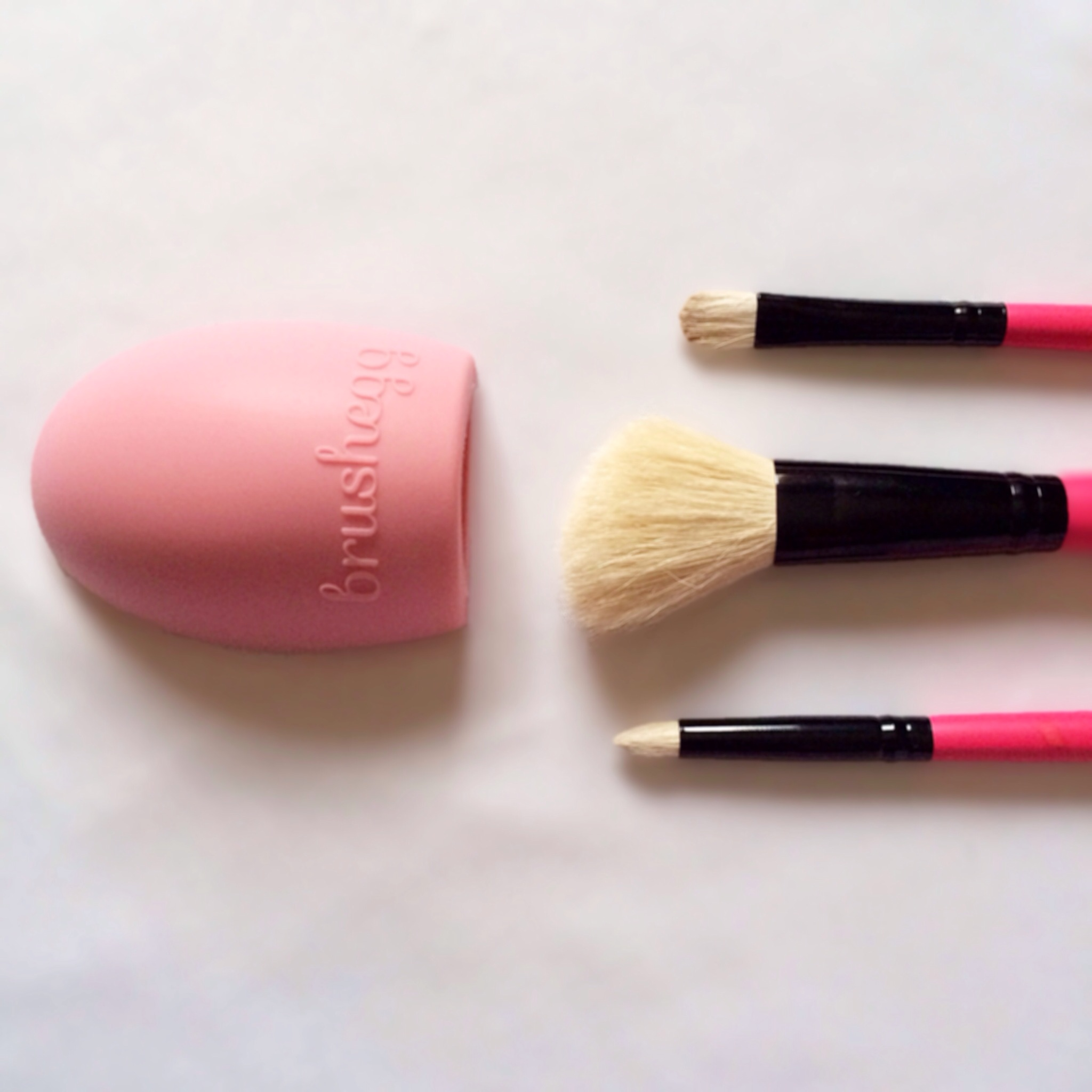 My Makeup Brush Cleansing Routine Mini Review Of The Egg All I Do Is Just Run Over A Few Times Whilst Under Free Flowing Stream Water Its Really That Simple